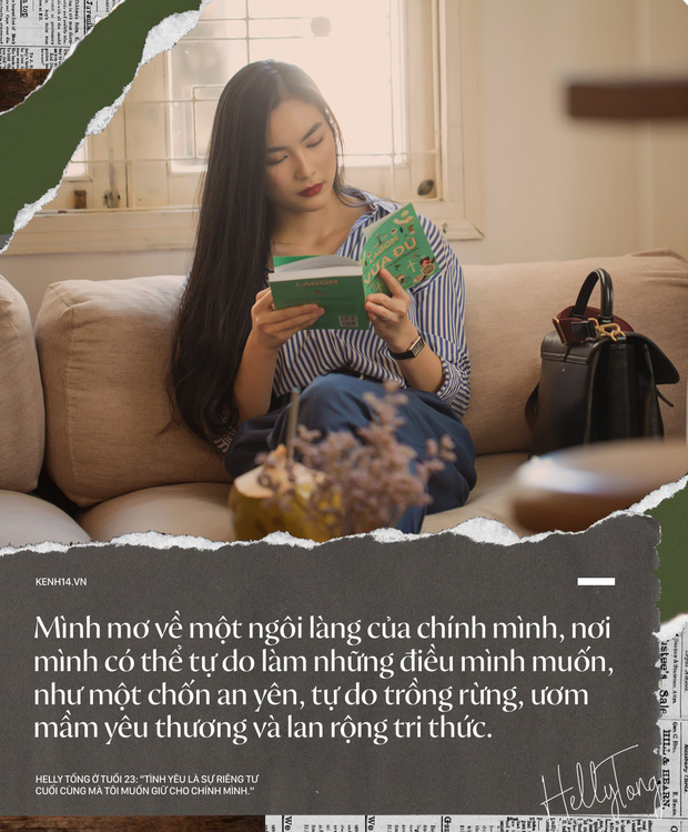 Helly Tống ở tuổi 23: Tình yêu là sự riêng tư cuối cùng mà tôi giữ cho riêng mình. - Ảnh 14.