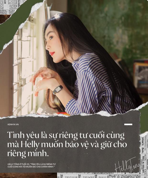 Helly Tống ở tuổi 23: Tình yêu là sự riêng tư cuối cùng mà tôi giữ cho riêng mình. - Ảnh 18.