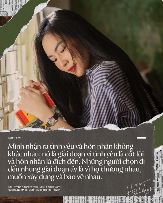 Helly Tống ở tuổi 23: Tình yêu là sự riêng tư cuối cùng mà tôi giữ cho riêng mình. - Ảnh 19.
