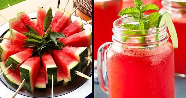 Các loại thực phẩm và đồ uống giúp cơ thể thoát khỏi bị giữ nước - Ảnh 3.