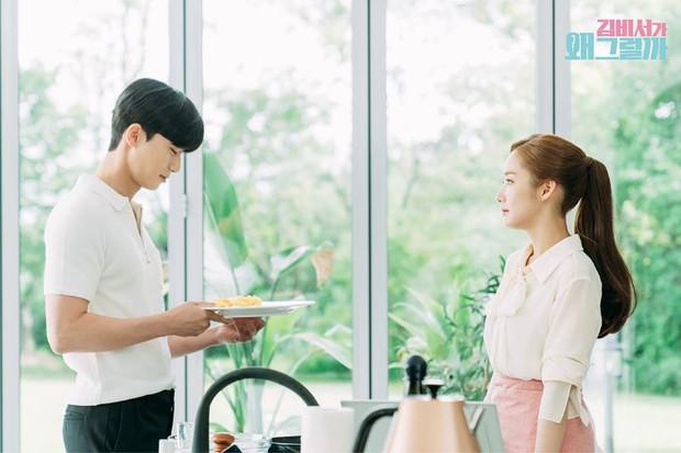 Thư Ký Kim: Đóng cảnh ôm thôi mà Park - Park đã thấy nóng trong người, tình ý gì đây? - Ảnh 13.