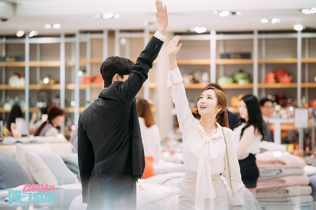 Thư Ký Kim: Đóng cảnh ôm thôi mà Park - Park đã thấy nóng trong người, tình ý gì đây? - Ảnh 15.