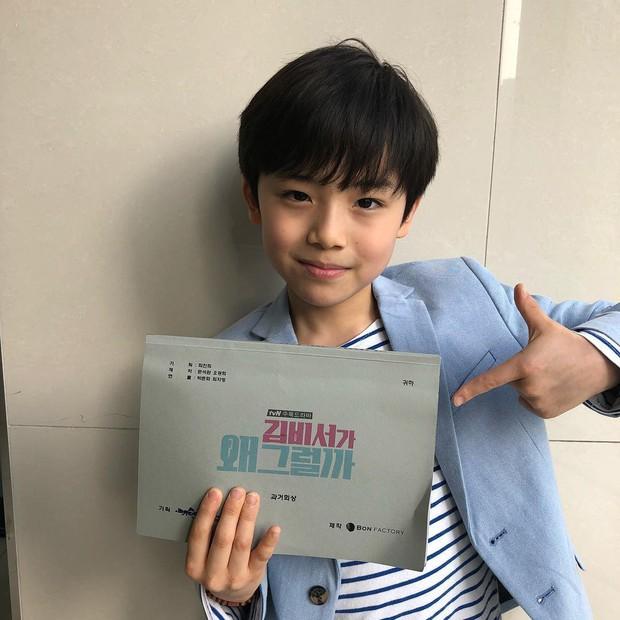 Sao nhí 9 tuổi của Thư ký Kim bỗng thành hiện tượng vì quá điển trai, tài năng: Nam thần tương lai đây rồi! - Ảnh 20.