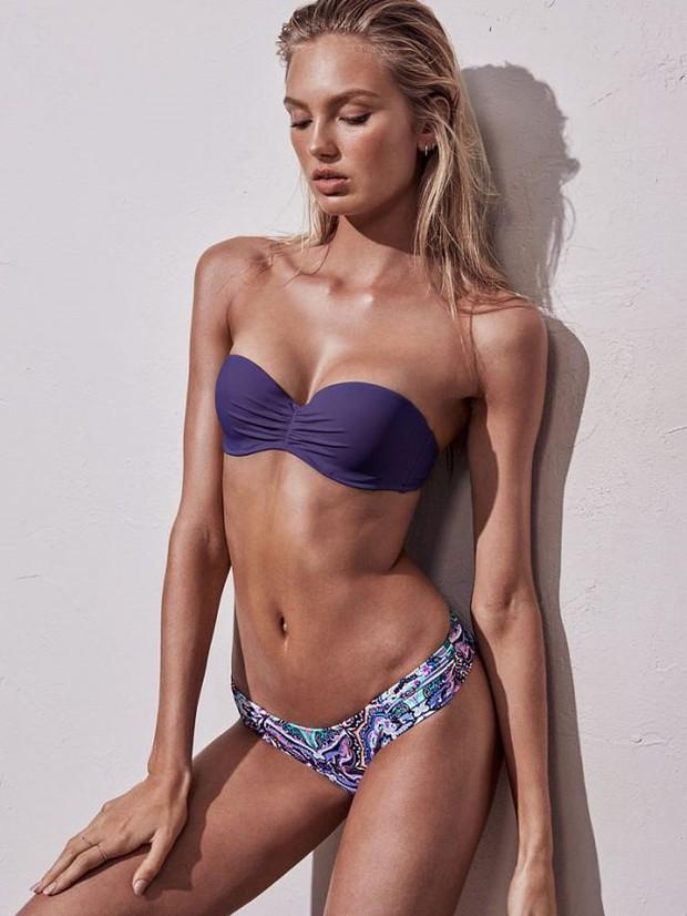 Hóa ra đây là mánh khóe giúp người mẫu có vòng 1 căng đầy cả khi diện bikini không dây, và nó không phải là Photoshop - Ảnh 1.