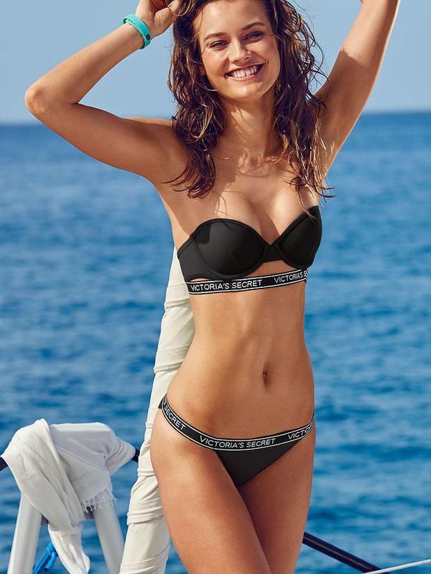 Hóa ra đây là mánh khóe giúp người mẫu có vòng 1 căng đầy cả khi diện bikini không dây, và nó không phải là Photoshop - Ảnh 2.