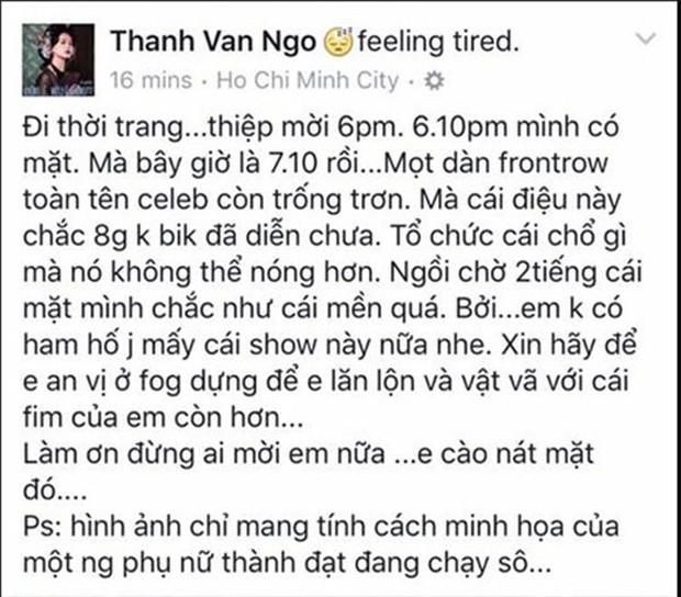 Không chỉ Huỳnh Anh vắng mặt khiến cả trăm người phải chờ đợi, nhiều sao Việt còn gây bức xúc vì làm việc thiếu chuyên nghiệp - Ảnh 4.