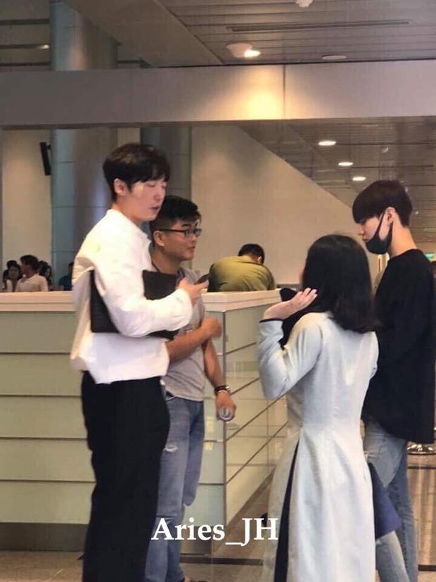 Nam thần đình đám Taemin (SHINee) bất ngờ có mặt ở Đà Nẵng, bịt kín nhưng vẫn bị fan phục kích tại sân bay - Ảnh 4.