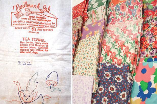 Vào thời kì Đại suy thoái, các công ty sản xuất bột mì đã in họa tiết lên bao vải để các mẹ có thể tái chế thành quần áo đẹp cho trẻ em - Ảnh 7.