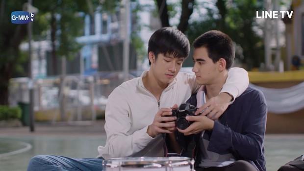 Vì Em Là Chàng Trai Của Tôi - Phim đam mỹ Thái rắc thính cực mạnh của cặp mỹ nam 10X - Ảnh 3.