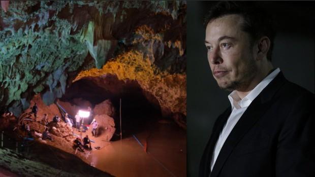 Elon Musk đăng status nói thợ lặn cứu đội bóng Thái Lan là kẻ ấu dâm, không hiểu sao giờ đã xóa mất hút - Ảnh 1.