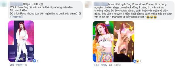 Hết ganh tị với Jennie, fan Black Pink lại tố stylist bất công khi không chịu đổi trang phục, kiểu tóc cho Rosé - Ảnh 8.