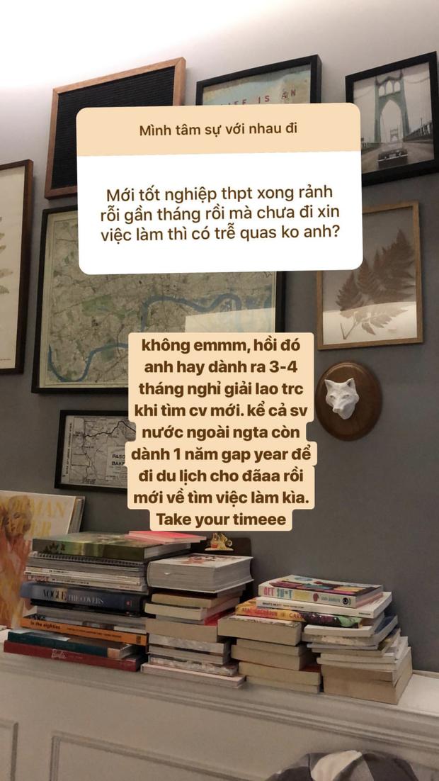 Ngày xưa có anh Chánh Văn, còn giờ có một tập đoàn tư vấn tình cảm, công việc, cuộc sống... trên Insta story - Ảnh 21.