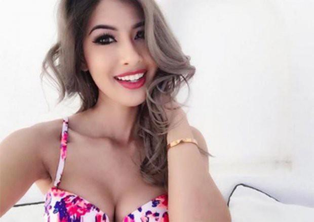 Nhan sắc xinh đẹp như mỹ nhân Ấn Độ của em gái Hoa hậu Jennifer Phạm - Ảnh 3.