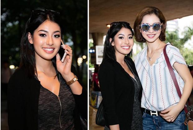 Nhan sắc xinh đẹp như mỹ nhân Ấn Độ của em gái Hoa hậu Jennifer Phạm - Ảnh 1.