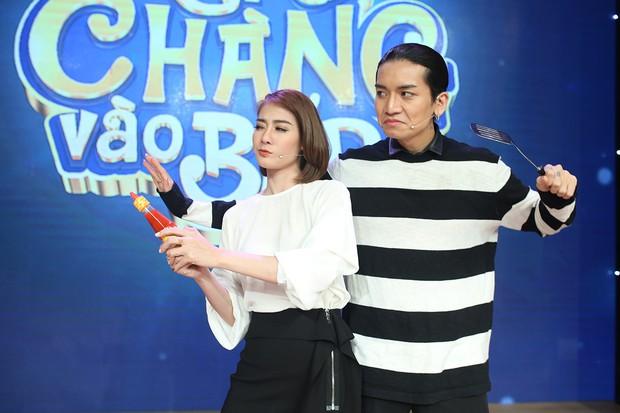 Cặp đôi BB Trần - Kim Nhã tái xuất, cãi nhau ầm ĩ trong show nấu ăn - Ảnh 3.