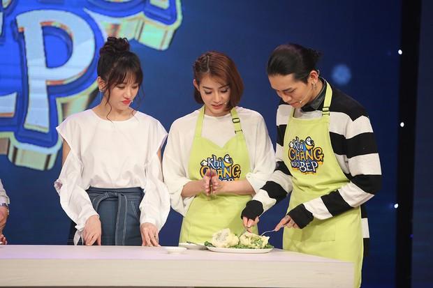Cặp đôi BB Trần - Kim Nhã tái xuất, cãi nhau ầm ĩ trong show nấu ăn - Ảnh 4.
