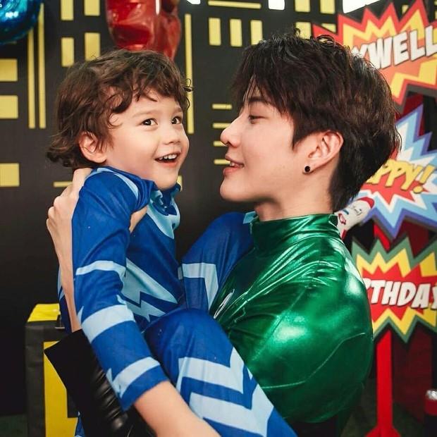 Tài tử Full House Thái Mike Angelo khoe con trai 4 tuổi vừa đẹp trai vừa Tây bên bạn gái cũ - Ảnh 7.
