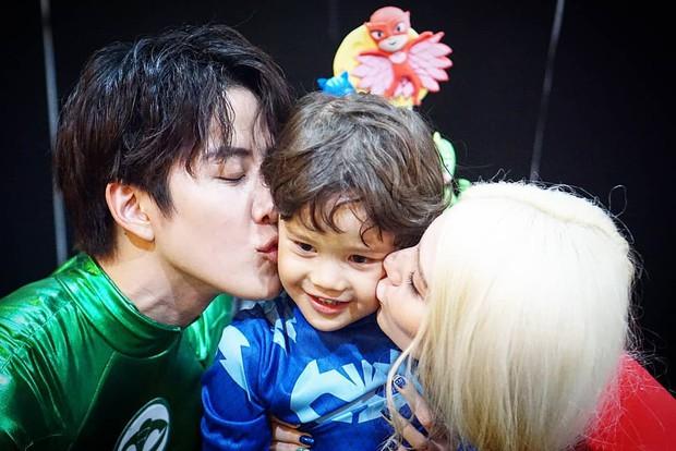 Tài tử Full House Thái Mike Angelo khoe con trai 4 tuổi vừa đẹp trai vừa Tây bên bạn gái cũ - Ảnh 6.