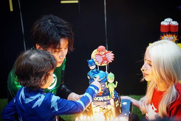 Tài tử Full House Thái Mike Angelo khoe con trai 4 tuổi vừa đẹp trai vừa Tây bên bạn gái cũ - Ảnh 5.