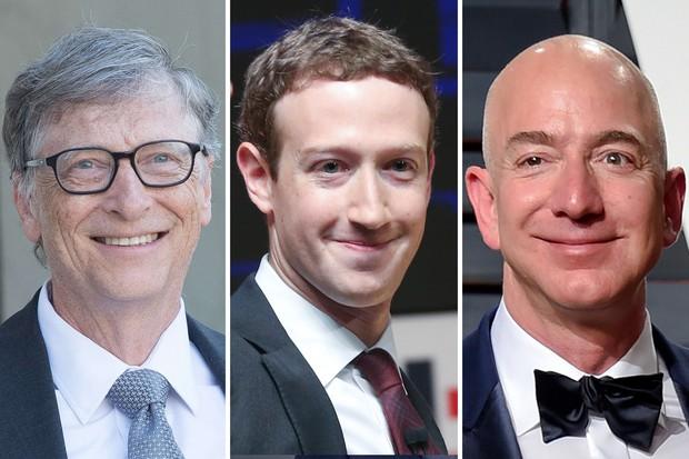 Jeff Bezos cho Bill Gates hít khói với tổng tài sản 150 tỷ USD, giàu nhất lịch sử thế giới đương đại - Ảnh 2.