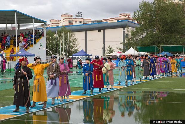 Chùm ảnh tuyệt đẹp về lễ hội Naadam đầy màu sắc của người dân Mông Cổ - Ảnh 19.