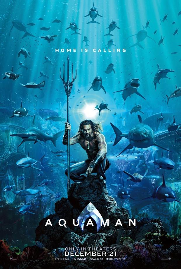 Aquaman vừa tung poster hé lộ tạo hình của Thủy thủ Mặt Trăng đấy à? - Ảnh 1.