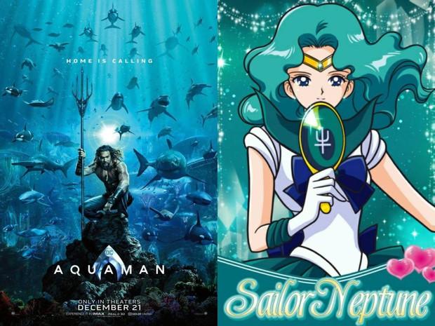 Aquaman vừa tung poster hé lộ tạo hình của Thủy thủ Mặt Trăng đấy à? - Ảnh 2.