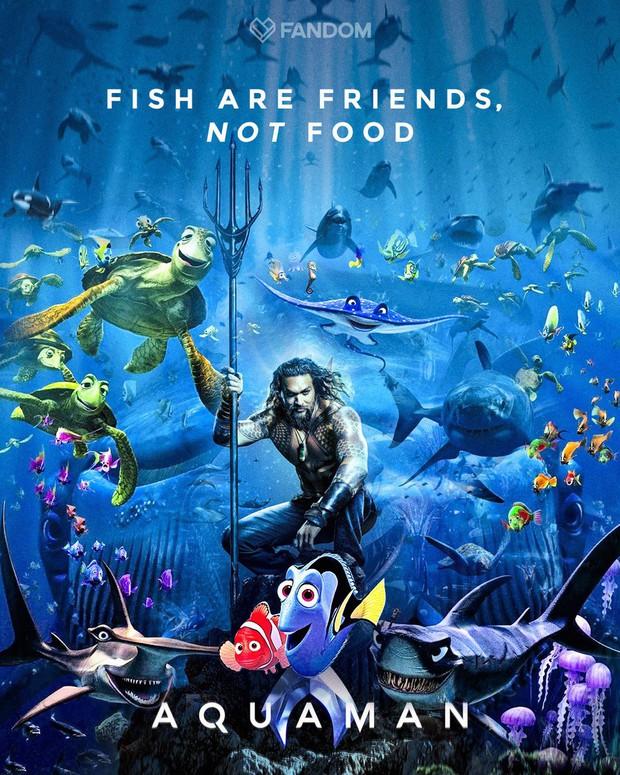 Aquaman vừa tung poster hé lộ tạo hình của Thủy thủ Mặt Trăng đấy à? - Ảnh 4.