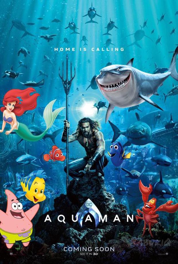 Aquaman vừa tung poster hé lộ tạo hình của Thủy thủ Mặt Trăng đấy à? - Ảnh 6.