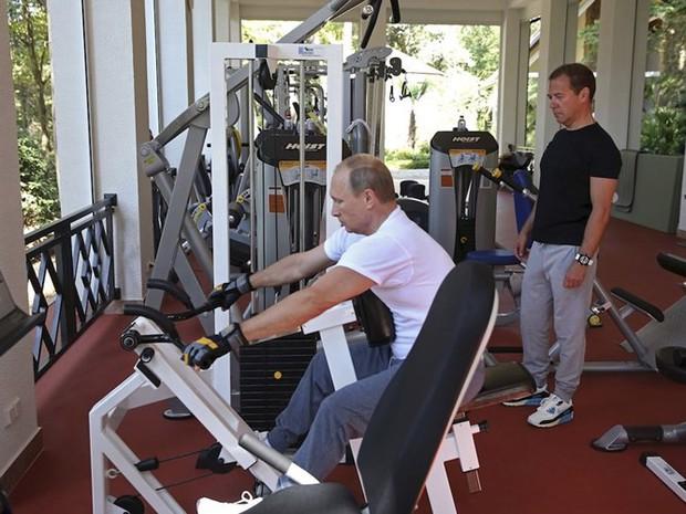 Ảnh: Bật mí về cuộc sống thường ngày của Tổng thống Nga Putin - Ảnh 6.