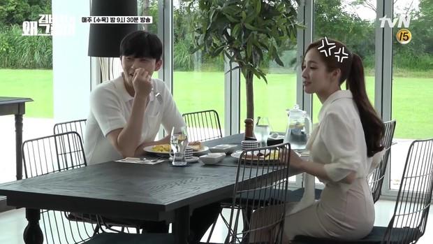 Hậu trường Thư Ký Kim: Phản ứng cực mặn của Park Seo Joon khi ăn món trứng của Park Min Young - Ảnh 5.
