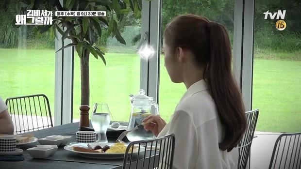 Hậu trường Thư Ký Kim: Phản ứng cực mặn của Park Seo Joon khi ăn món trứng của Park Min Young - Ảnh 7.