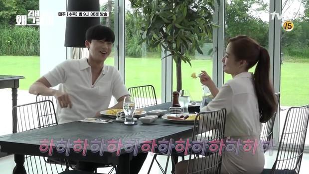 Hậu trường Thư Ký Kim: Phản ứng cực mặn của Park Seo Joon khi ăn món trứng của Park Min Young - Ảnh 9.