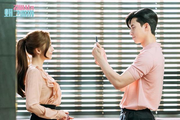 Hậu trường Thư Ký Kim: Phản ứng cực mặn của Park Seo Joon khi ăn món trứng của Park Min Young - Ảnh 10.