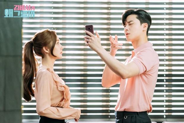 Hậu trường Thư Ký Kim: Phản ứng cực mặn của Park Seo Joon khi ăn món trứng của Park Min Young - Ảnh 11.