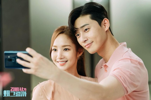 Hậu trường Thư Ký Kim: Phản ứng cực mặn của Park Seo Joon khi ăn món trứng của Park Min Young - Ảnh 12.