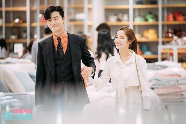 Hậu trường Thư Ký Kim: Phản ứng cực mặn của Park Seo Joon khi ăn món trứng của Park Min Young - Ảnh 13.