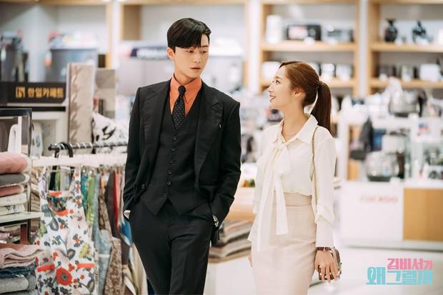 Hậu trường Thư Ký Kim: Phản ứng cực mặn của Park Seo Joon khi ăn món trứng của Park Min Young - Ảnh 14.