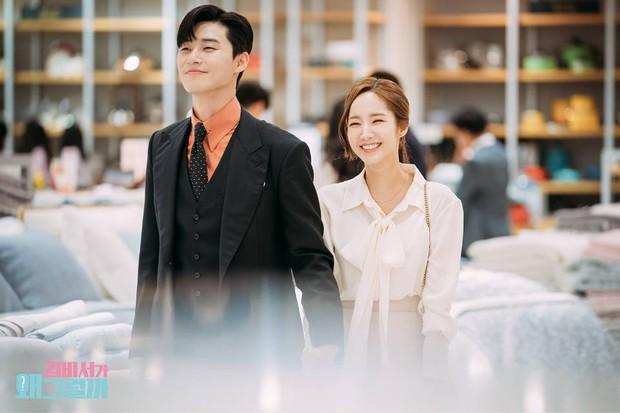 Hậu trường Thư Ký Kim: Phản ứng cực mặn của Park Seo Joon khi ăn món trứng của Park Min Young - Ảnh 15.