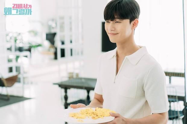 Hậu trường Thư Ký Kim: Phản ứng cực mặn của Park Seo Joon khi ăn món trứng của Park Min Young - Ảnh 17.