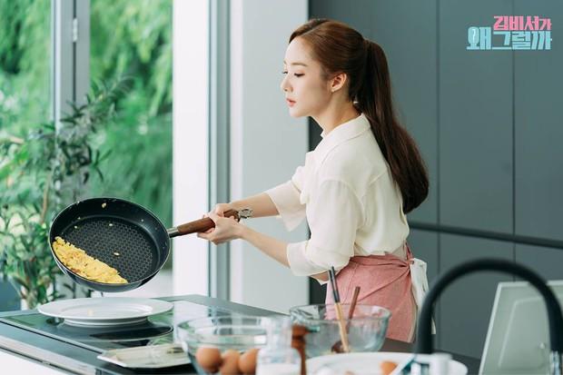 Hậu trường Thư Ký Kim: Phản ứng cực mặn của Park Seo Joon khi ăn món trứng của Park Min Young - Ảnh 18.