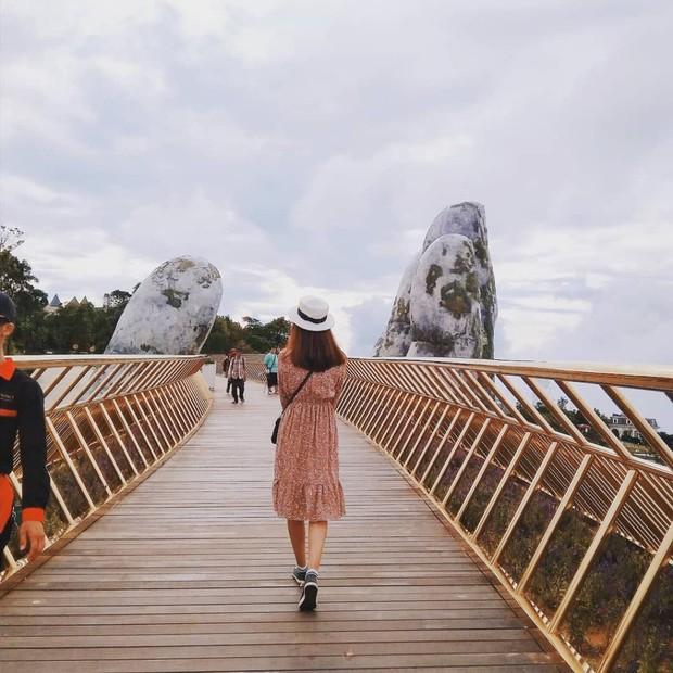Cầu Vàng với hai bàn tay khổng lồ ở Đà Nẵng đang khiến dân tình sốt xình xịch vì đẹp đến choáng ngợp - Ảnh 10.