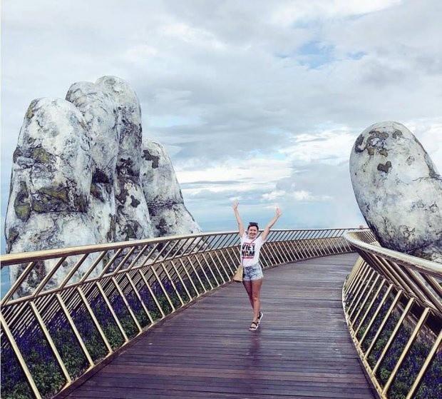 Cầu Vàng với hai bàn tay khổng lồ ở Đà Nẵng đang khiến dân tình sốt xình xịch vì đẹp đến choáng ngợp - Ảnh 8.