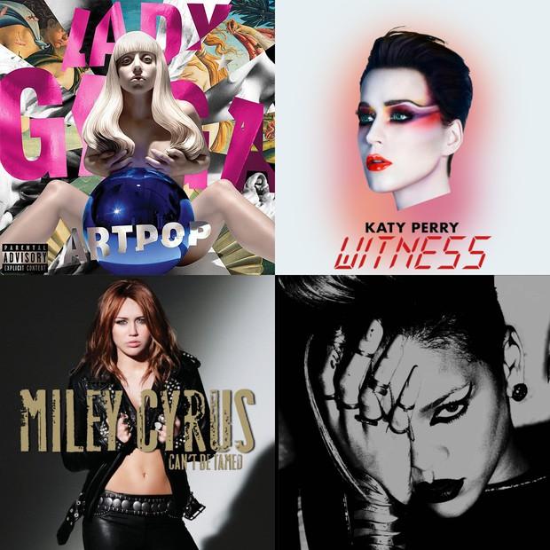 Lady Gaga và Katy Perry từng flop vì lời nguyền này, liệu album mới của Ariana Grande có miễn nhiễm? - Ảnh 3.
