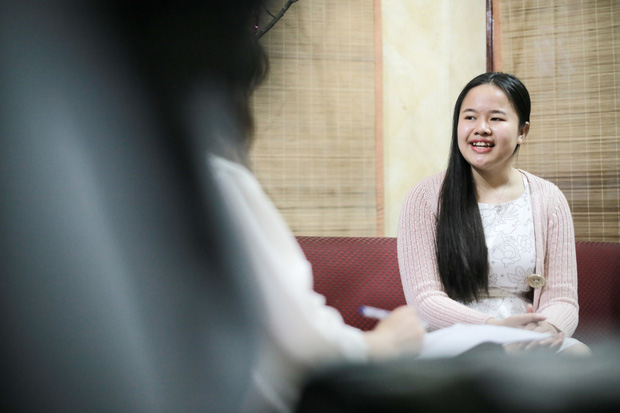 Hành trình vượt qua bóng tối của Lê Hương Giang - Nữ MC truyền hình khiếm thị đầu tiên của Việt Nam - Ảnh 2.
