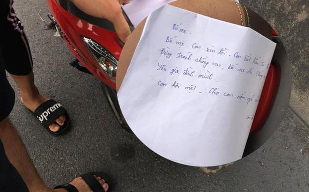 Cô giáo Hải Dương nhảy cầu tự tử để lại thư tuyệt mệnh trong cốp xe   - Ảnh 1.