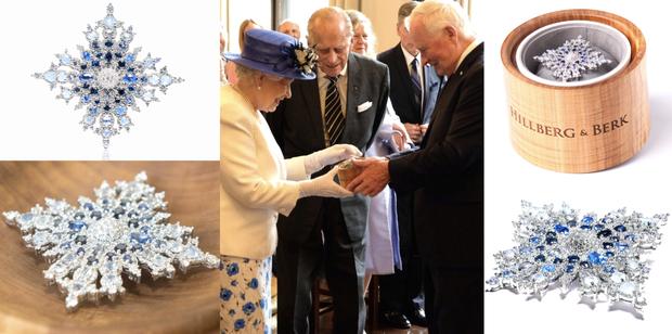 Đón tiếp Tổng thống Donald Trump, Nữ hoàng Anh đã chọn những món trang sức cài áo có ý nghĩa vô cùng đặc biệt - Ảnh 9.