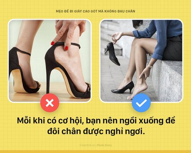 Muốn đi giày cao gót mà không sợ đau chân, nữ giới áp dụng không cần nghĩ ngay chùm mẹo vặt này - Ảnh 7.