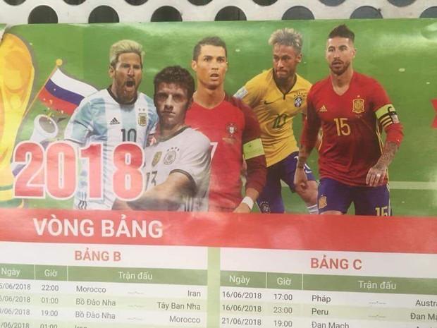Ảnh chế World Cup 2018: Lịch thi đấu điềm báo cho Messi, Ronaldo - Ảnh 1.