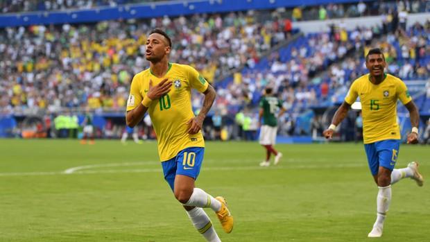 Neymar không nối gót Messi và Ronaldo, tỏa sáng rực rỡ đưa Brazil vào tứ kết World Cup 2018 - Ảnh 3.